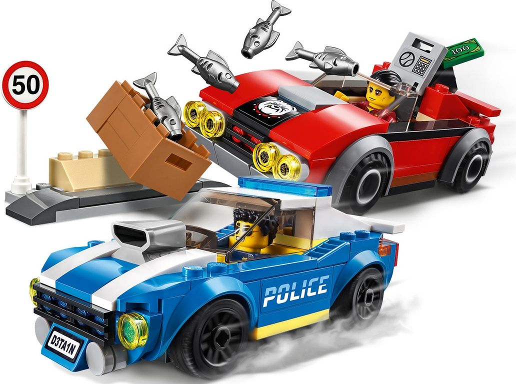 LEGO® City Police Highway Arrest gameplay