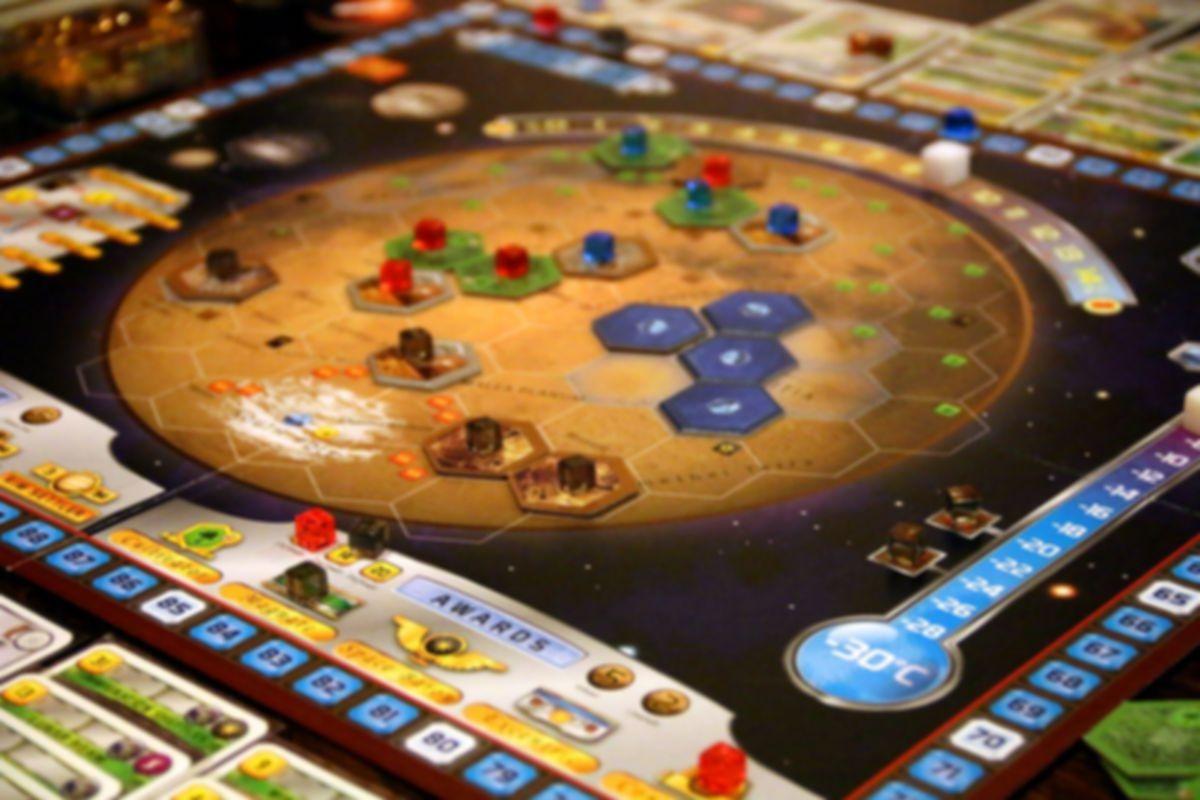 Terraforming Mars: Hellas & Elysium gameplay