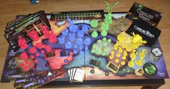 Cthulhu Wars components