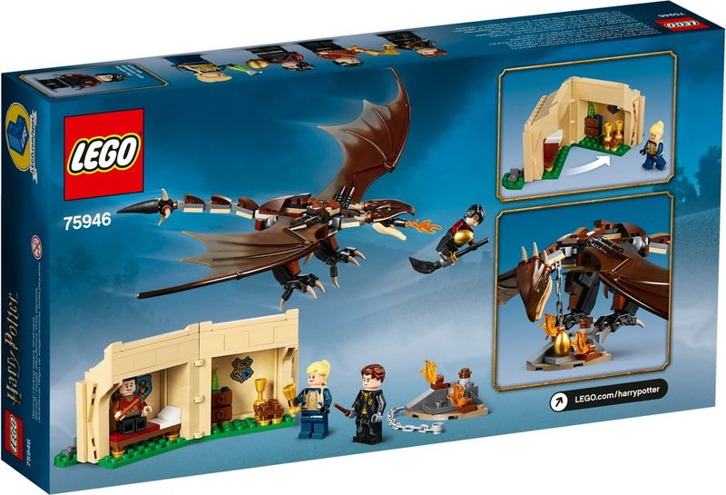 LEGO® Harry Potter Hungarian Horntail Triwizard Challenge box
