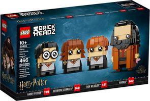 LEGO® BrickHeadz™ Harry, Hermione, Ron & Hagrid™