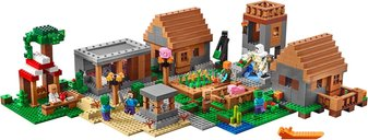 LEGO® Minecraft The Village components