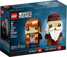 LEGO® BrickHeadz™ Ron Weasley™ & Albus Dumbledore™