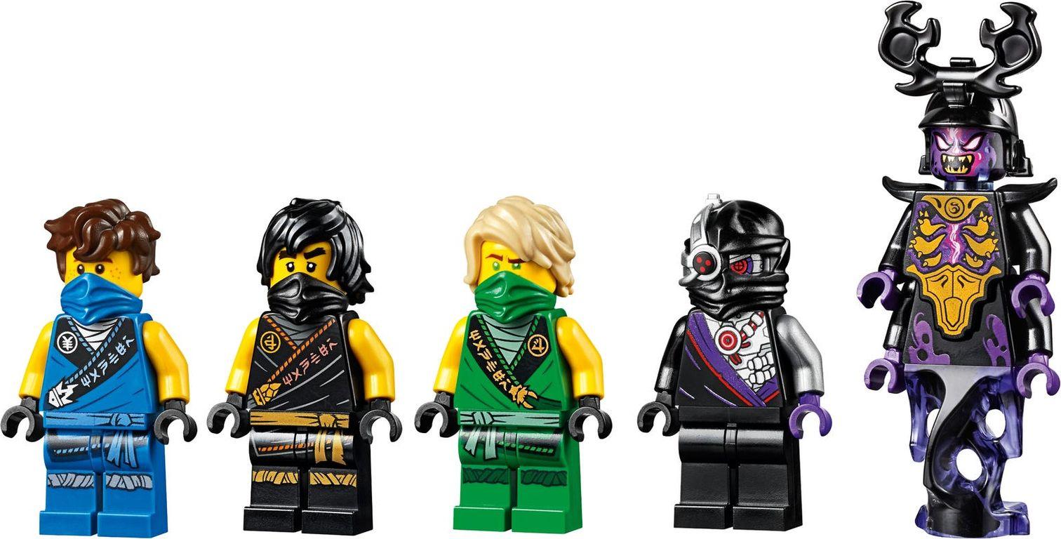 LEGO® Ninjago Thunder Raider characters