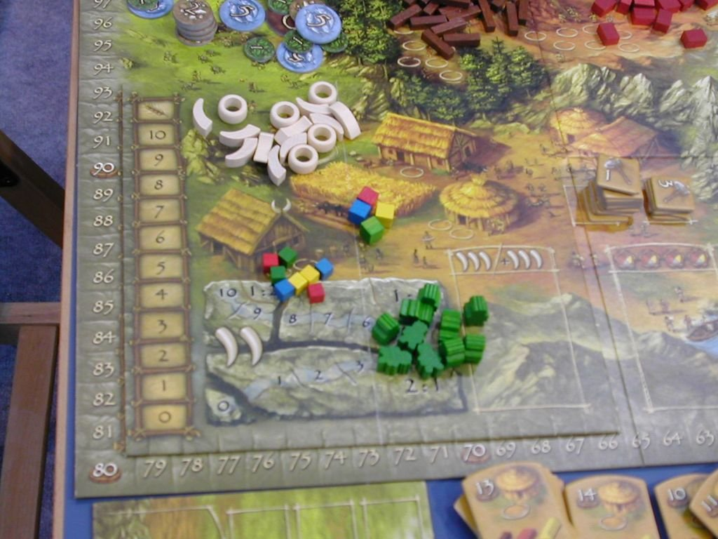 Stone Age: The Expansion components