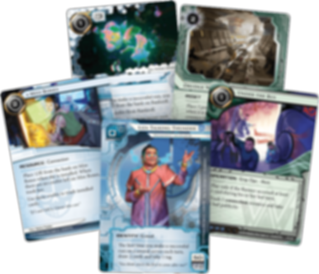 Android: Netrunner - Reign and Reverie cards