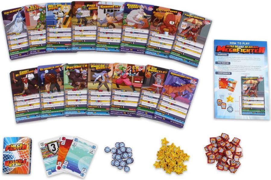 Ultra Deluxe 2D Arcade Mega Fighter components