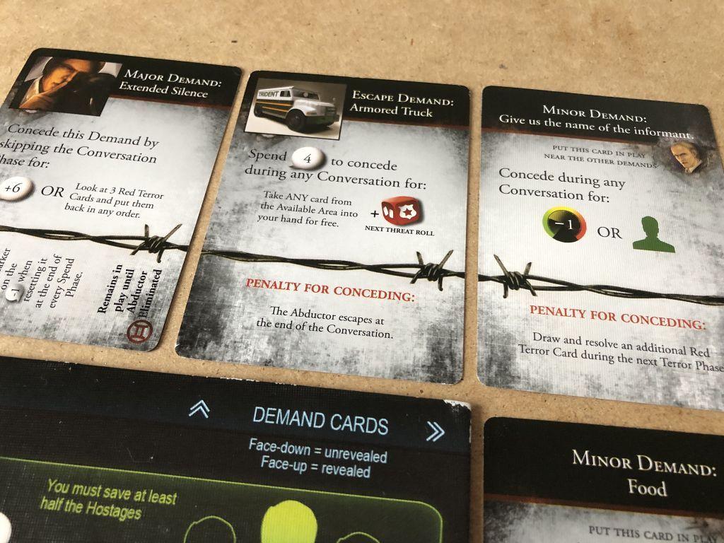 Hostage Negotiator: Abductor Pack 2 cards