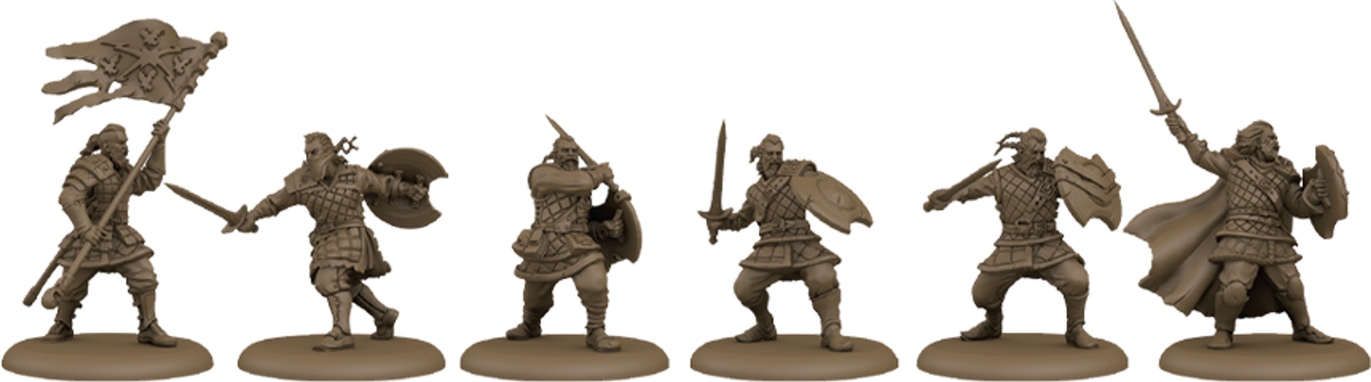 A Song of Fire & Ice: Tabletop Miniatures Game – Neutral Stormcrow Mercenaries miniatures