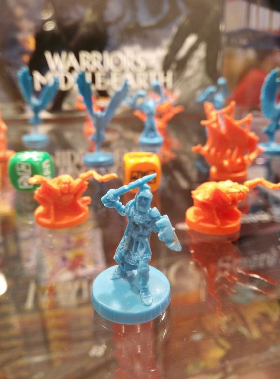 War of the Ring: Warriors of Middle-earth miniatures