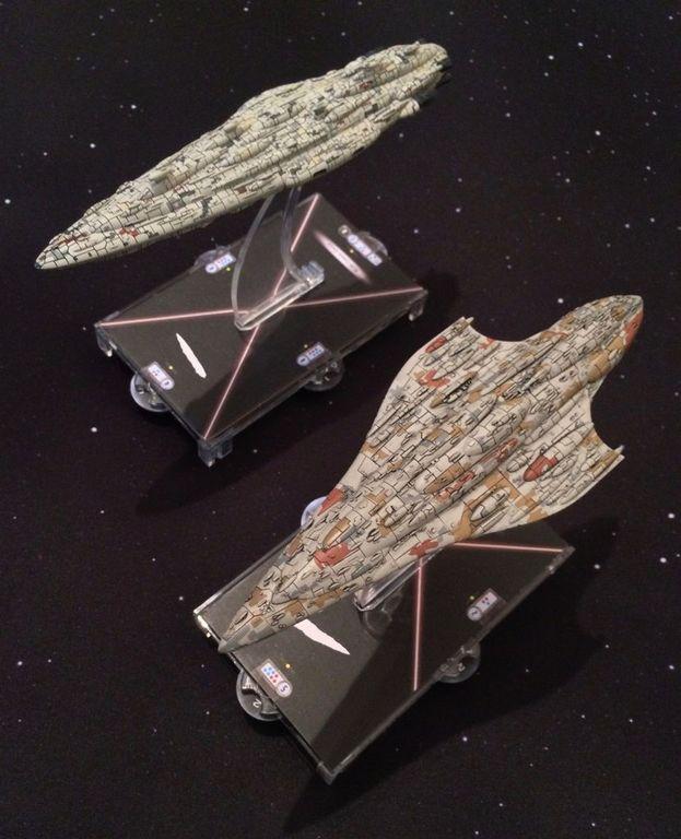 Star Wars: Armada - Liberty Expansion Pack miniatures