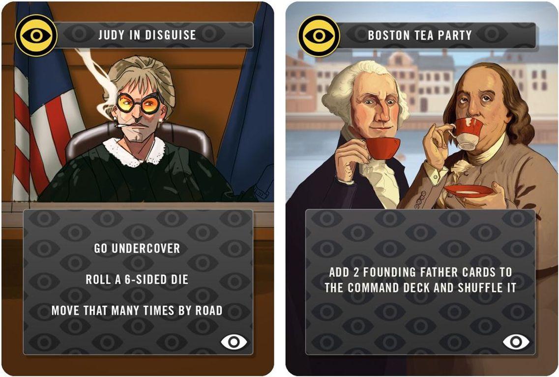 Revenge of the Dictators: The American Agent aka Bob cards