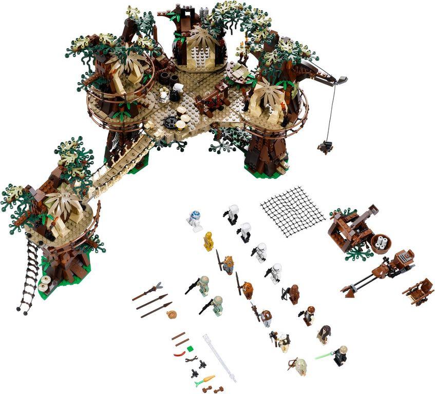 LEGO® Star Wars Ewok™ Village components