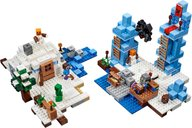 LEGO® Minecraft The Ice Spikes components