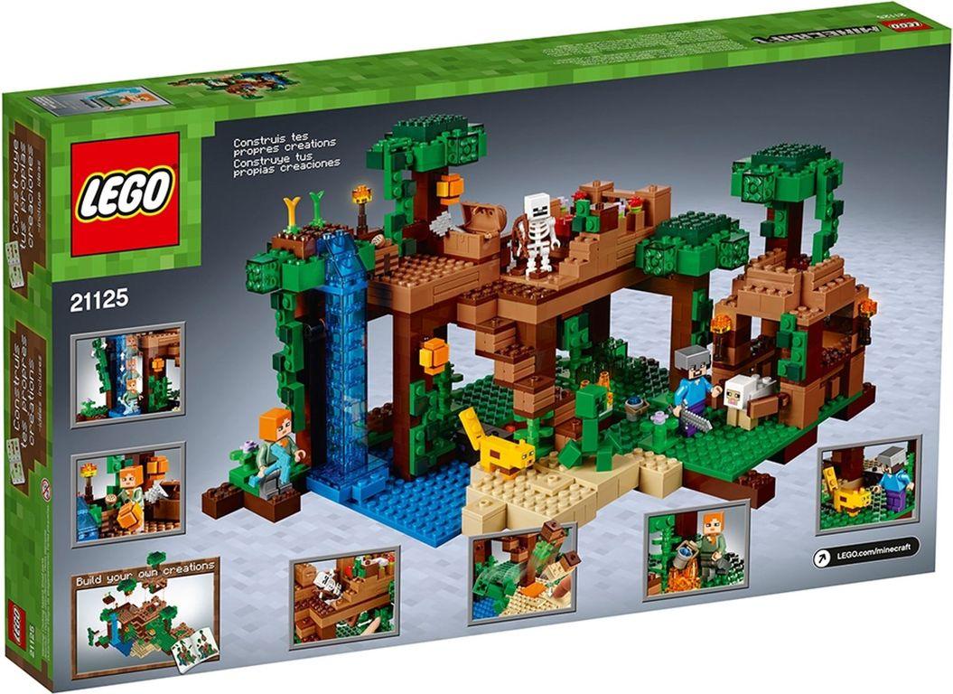 LEGO® Minecraft The Jungle Tree House back of the box