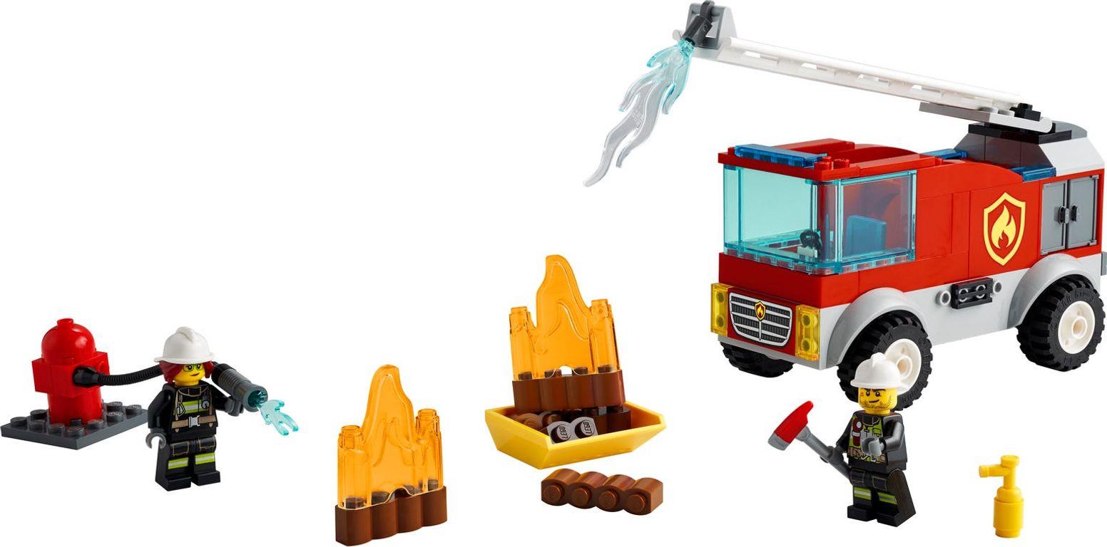 LEGO® City Fire Ladder Truck gameplay