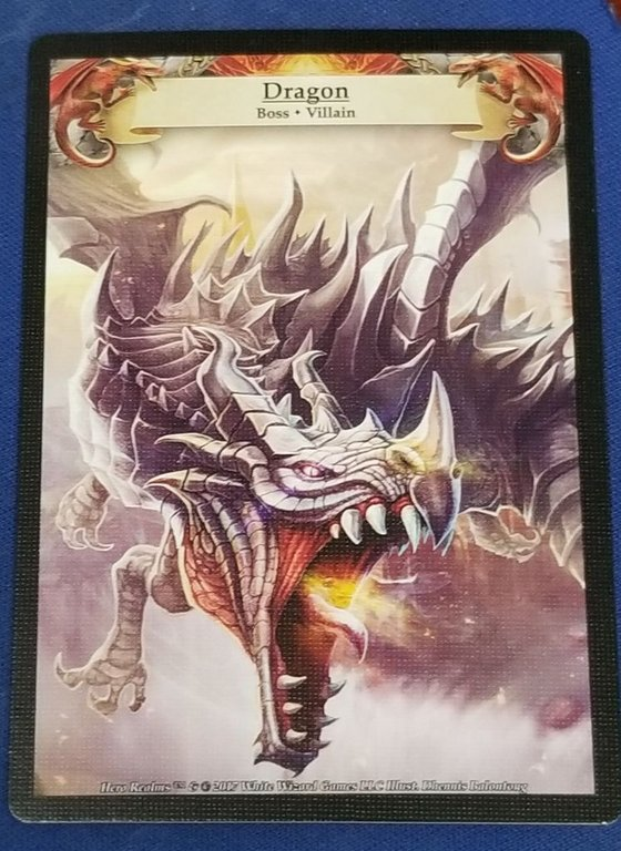 Hero Realms: Boss Deck - The Dragon cards