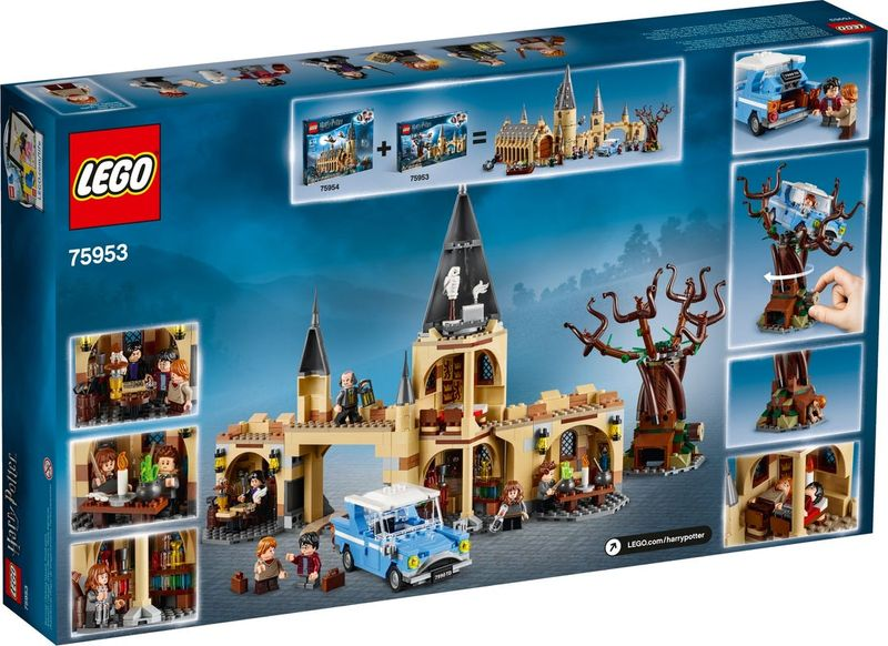 LEGO® Harry Potter Hogwarts™ Whomping Willow™ back of the box