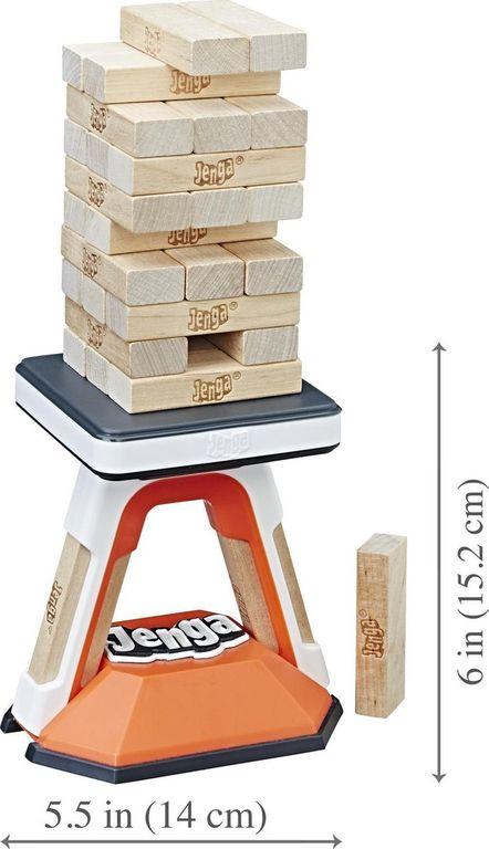 Jenga Pass Challenge components