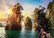 Three Rocks in Cheow, Thailand