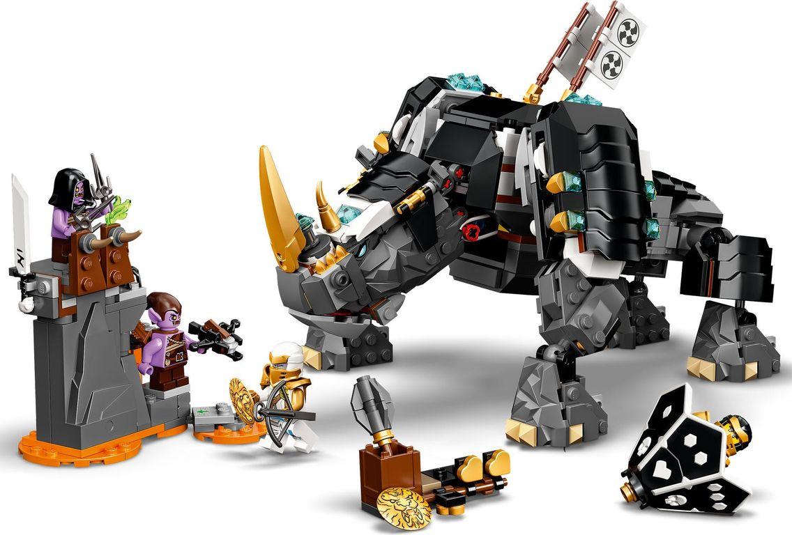LEGO® Ninjago Zane's Mino Creature gameplay