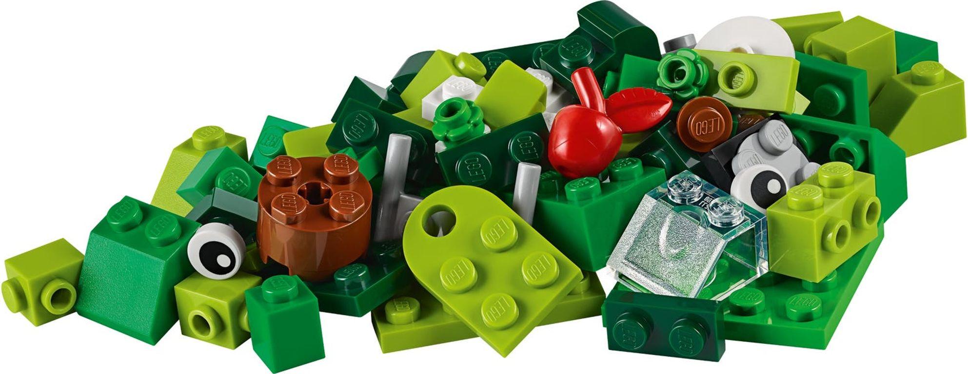 LEGO® Classic Creative Green Bricks components