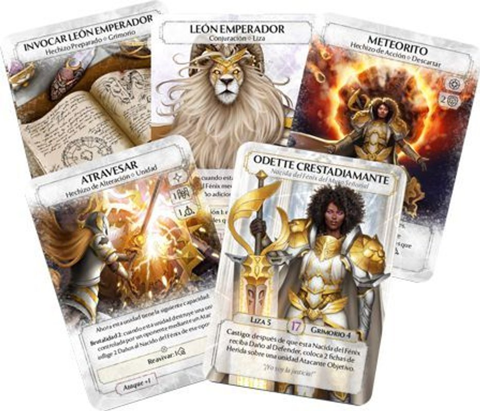 Ashes: The Laws of Lions cards