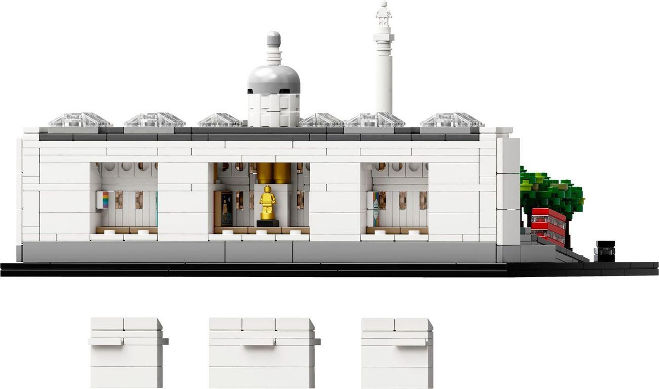 LEGO® Architecture LEGO 21045 Trafalger Square back side
