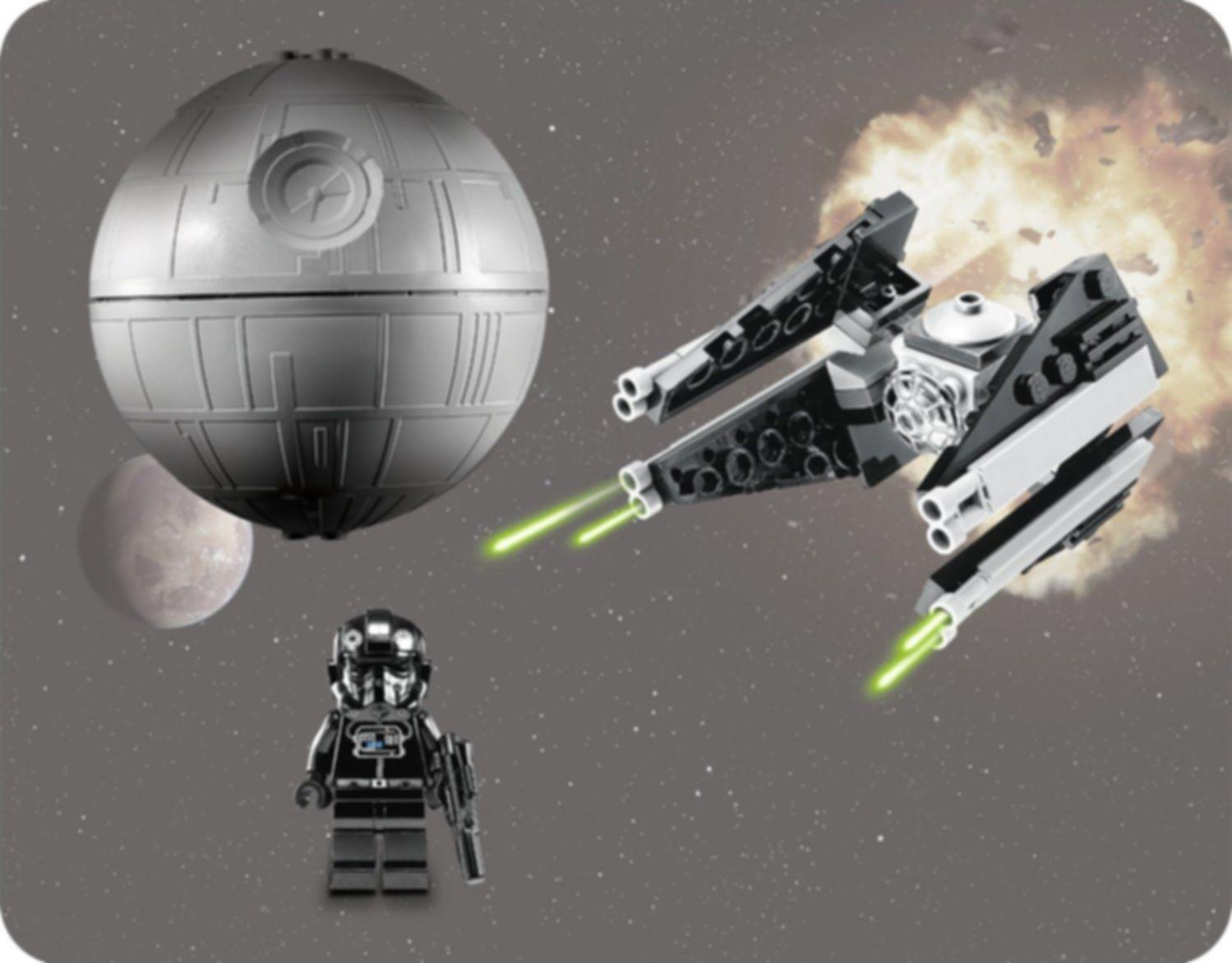 LEGO® Star Wars TIE Interceptor & Death Star gameplay