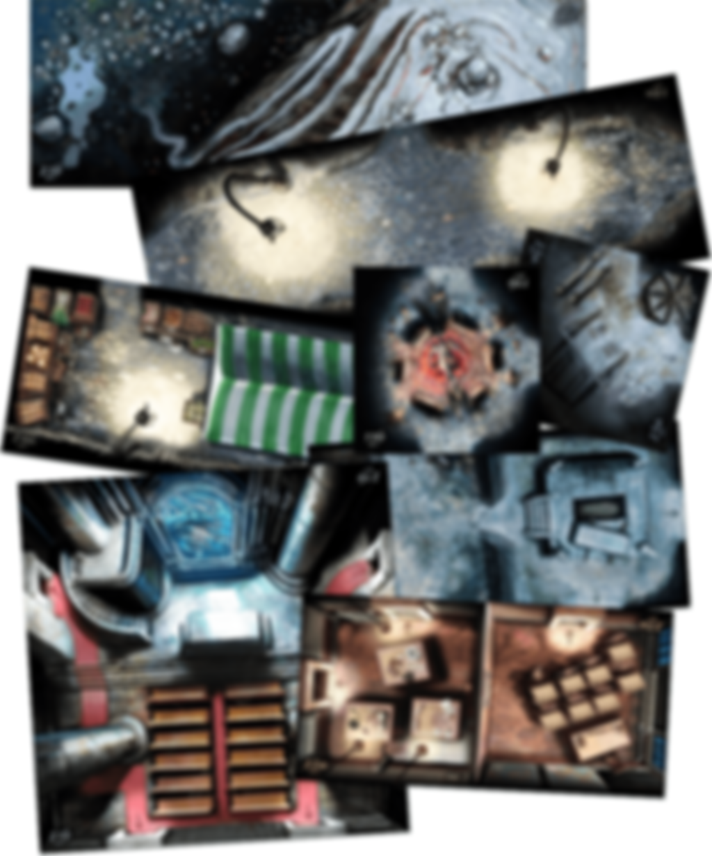 Cthulhu: Death May Die - Season 2 Expansion tiles