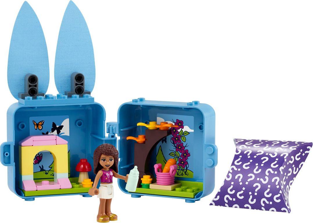 LEGO® Friends Andrea's Bunny Cube components