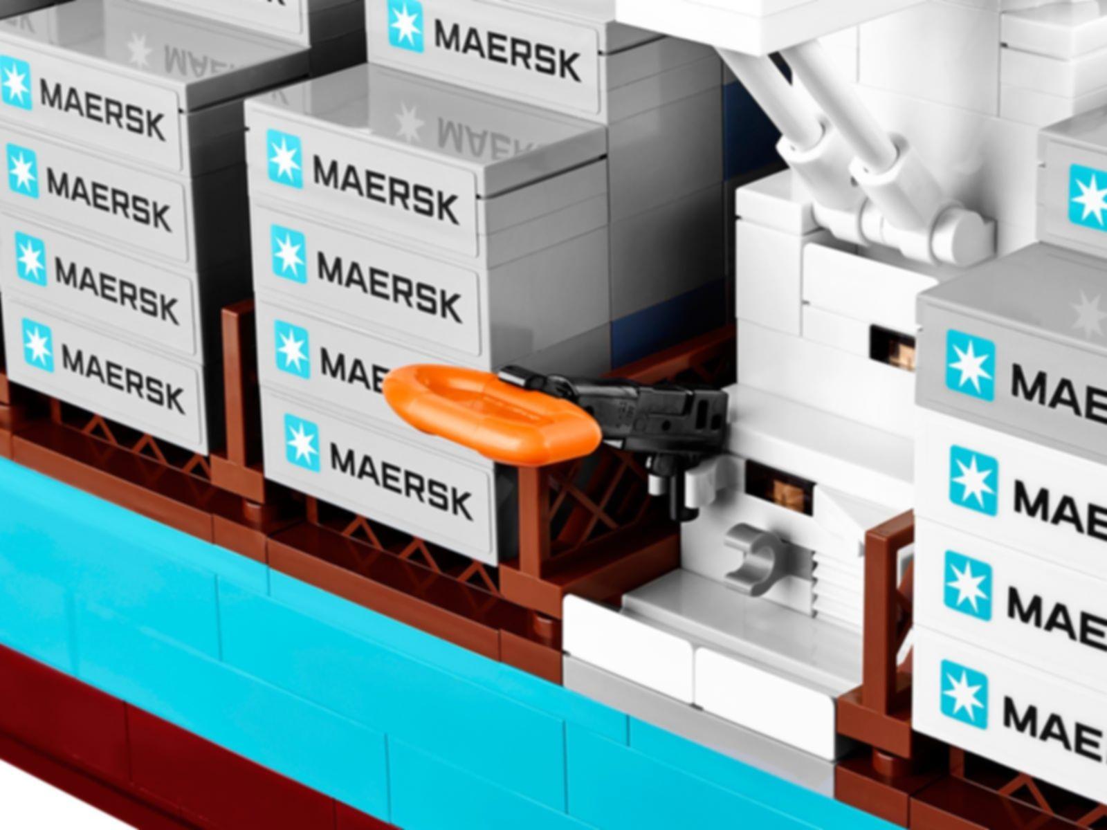 Maersk Line Triple-E components