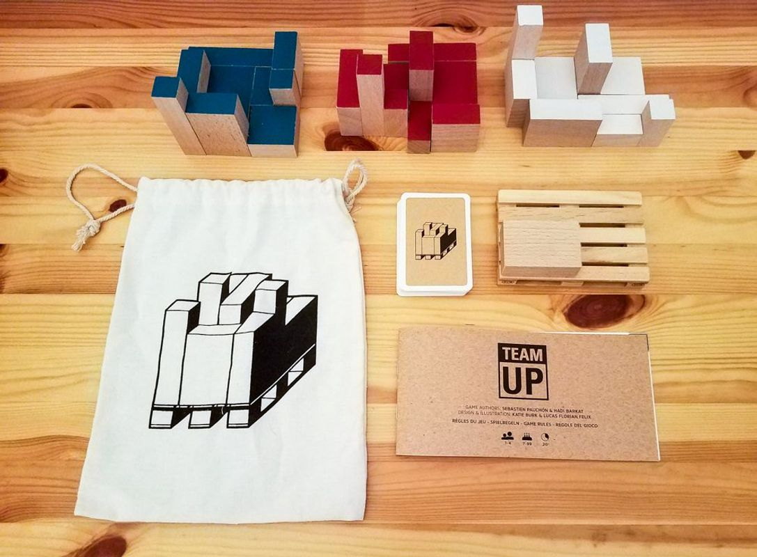 Team UP! components