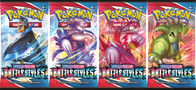 Pokémon TCG: Sword & Shield - Battle Styles Booster Pack box
