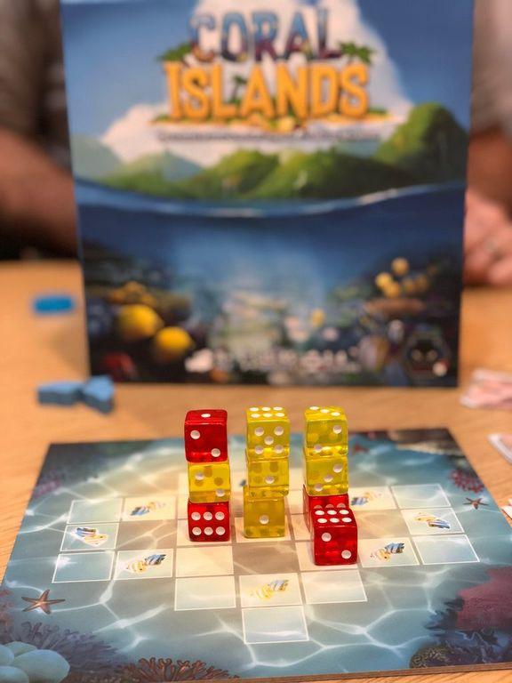 Coral Islands dice