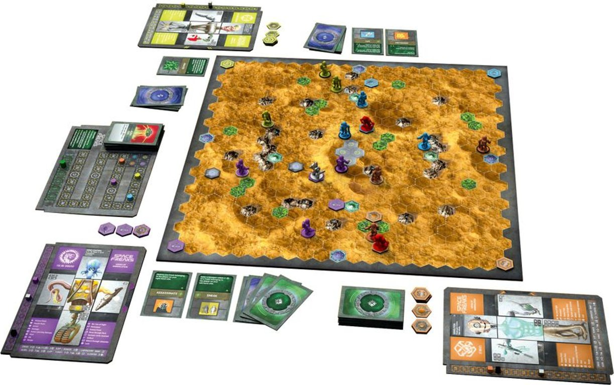 Space Freaks components