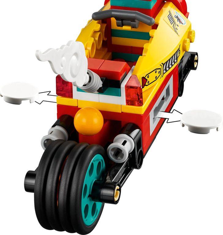 LEGO® Monkie Kid Monkie Kid's Cloud Bike components