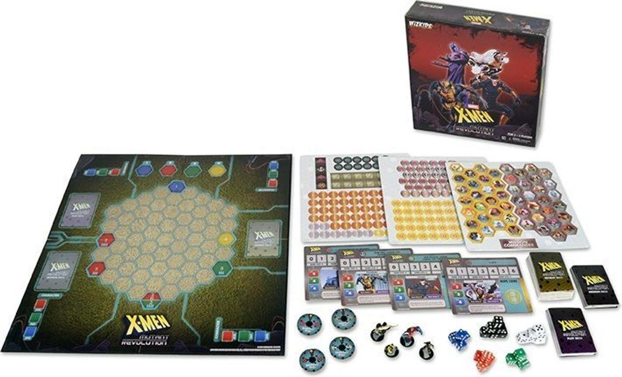 X-Men: Mutant Revolution components