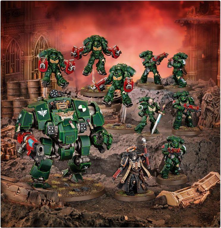 Warhammer 40.000 Combat Patrol: Dark Angels miniatures