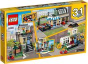 LEGO® Creator Park Street Townhouse back of the box