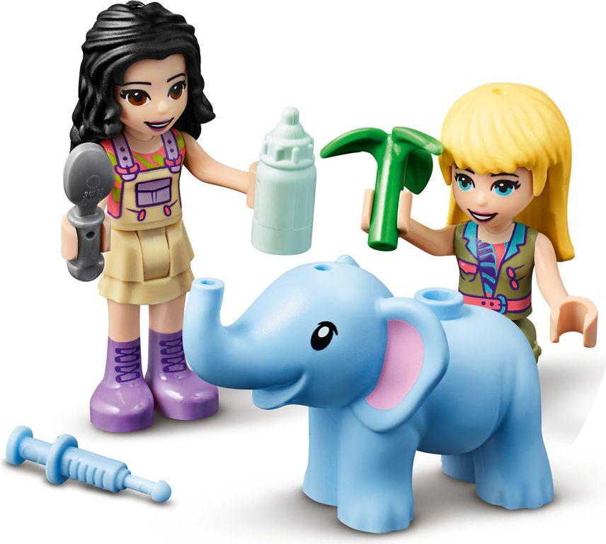 LEGO® Friends Baby Elephant Jungle Rescue minifigures