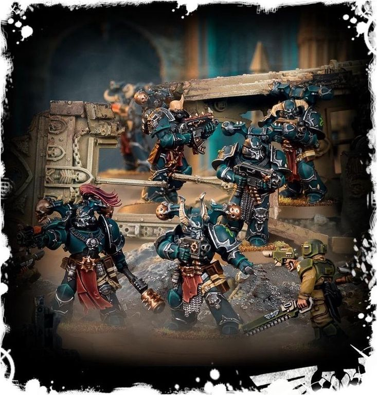 Chaos Space Marines gameplay