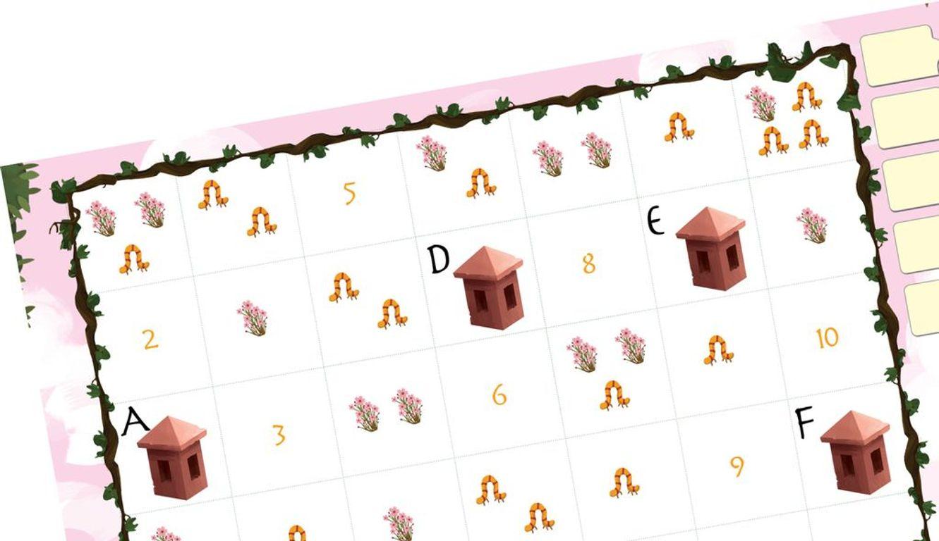 Kokoro: Avenue of the Kodama game board
