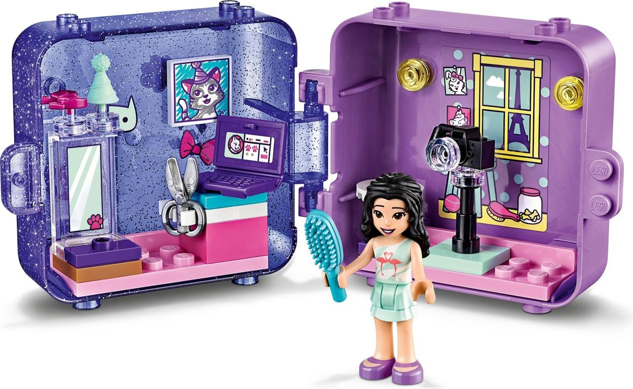 LEGO® Friends Emma's Play Cube gameplay
