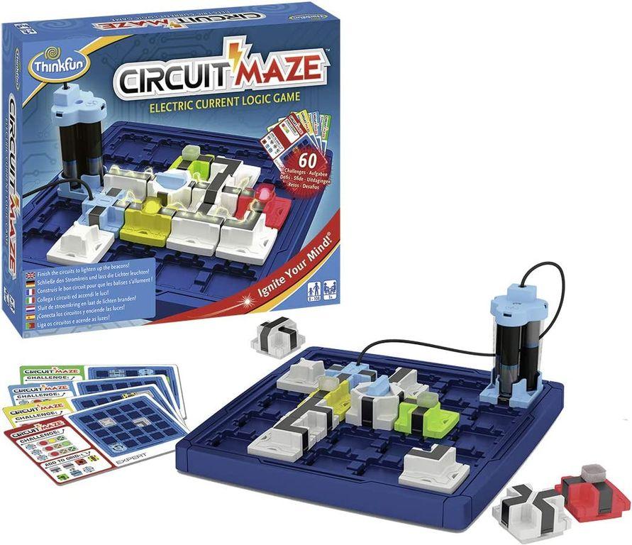 Circuit Maze components