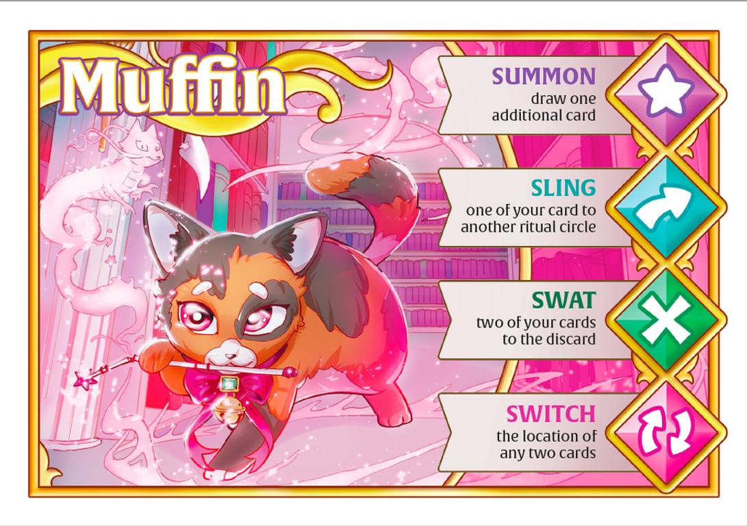 Wizard Kittens card
