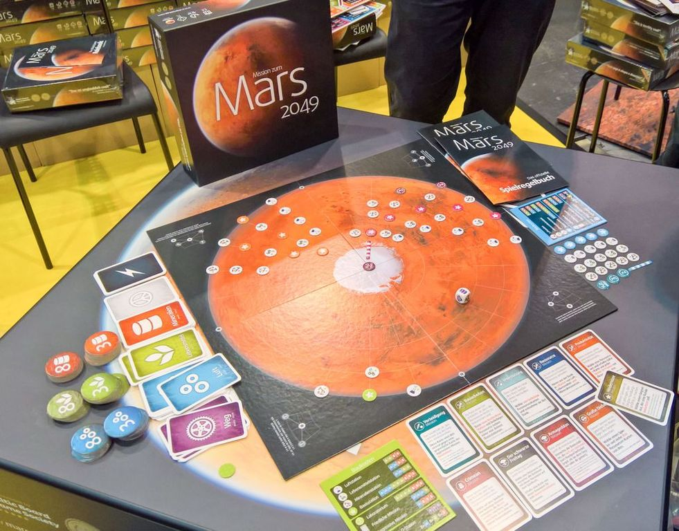 Mission to Mars 2049 components