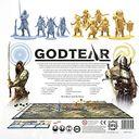 Godtear: The Borderlands Starter Set back of the box