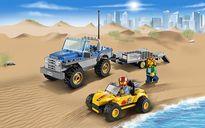 LEGO® City Dune Buggy Trailer gameplay