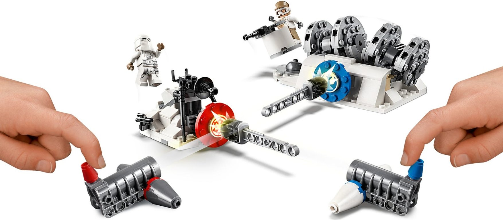 LEGO® Star Wars Action Battle Hoth™ Generator Attack gameplay